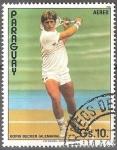 Sellos del Mundo : America : Paraguay : Tenistas(Boris Becker).