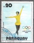 Sellos del Mundo : America : Paraguay : Juegos Olimpicos de invierno de LAKE PLACID 1980.
