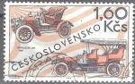 Sellos del Mundo : Europa : Checoslovaquia : Automóviles Laurin & Klement,1907.