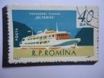 de Europa - Rumania -  ¨Oltenita¨ Barco de Pasajeros por el Danubio - - Serie:Marina mercante