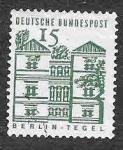 Stamps Germany -  904 - Edificios Alemanes a través de 12 Siglos