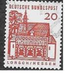 Stamps Germany -  905 - Edificios Alemanes a través de 12 Siglos