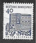 Stamps Germany -  908 - Edificios Alemanes a través de 12 Siglos