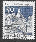 Sellos de Europa - Alemania -  943 - Puerta del Castillo de Ellwangen
