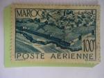Stamps : Africa : Morocco :  Murallas de Salé - Río Bou Regreg.