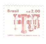 Sellos del Mundo : America : Brasil : Monumento