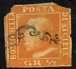 Stamps : Europe : Italy :  sicilia super raro