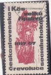 Sellos de Europa - Checoslovaquia -  50 ANIVER.REVOLUCIÓN SOCIALISTA