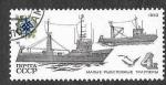 Stamps Europe - Russia -  5157 - Naves de la Flota Pesquera Soviética