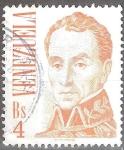 Stamps America - Venezuela -  Símon Bolívar.