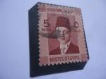 Stamps Africa - Egypt -  King Farouk de Egipto (1920/65) - Serie: Realeza Egipcia.