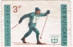 Stamps Europe - Bulgaria -  OLIMPIADA INNSBRUCK'64