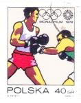 Stamps Europe - Poland -  OLIMPIADA MUNICH'72