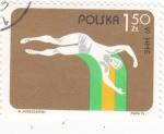 Stamps Europe - Poland -  ATLETISMO