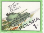 Stamps Europe - Poland -  TANQUE
