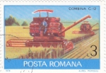 de Europa - Rumania -  MAQUINAS SEGADORAS