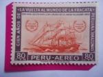 de America - Perú -  Cien Años de la vuelta al mundo de la Fragata Peruana