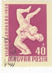 de Europa - Hungría -  LUCHA GRECOROMANA