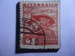 de Europa - Austria -  Tirol (Tyrol) -  Kaisertal  - Granjero y su esposa