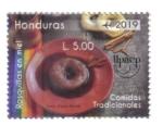 Stamps America - Honduras -  Upaep 2019: Comidas Tradicionales