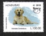 Stamps America - Honduras -  Upaep 2018: Animales Domésticos