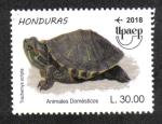 Stamps America - Honduras -  Upaep 2018: Animales Domesticos