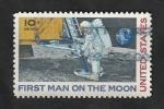 de America - Estados Unidos -  73 - Primer hombre la la Luna, Neil Armstrong