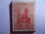 de Europa - Bulgaria -  Fernando I de Bulgaria (1861-1948) Zar de Bulgaria - 30 Aniversario del gobierno de Fernando I (1887