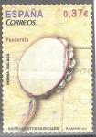 de Europa - España -  INSTRUMENTOS MUSICALES (Pandereta).