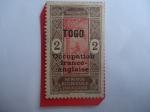 de Africa - Togo -  África Occidental - Ocupación Franco-Ingles-Serie:1913-1939)-Nativo trepando una Palmera.-