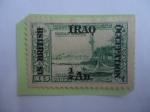 de Asia - Irak -  Ocupación Británica - Sello Oriente Medio-Irak