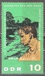 sellos de Europa - Alemania -  90 cumpleaños del Dr. Albert Schweitzer.