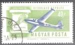 Sellos del Mundo : Europa : Hungría : Historia de la aviación(Diseño de Sailplane y Lilienthal en 1898).