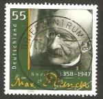 Sellos del Mundo : Europa : Alemania : 2482 - Max Planck,  nobel de física