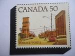 Sellos del Mundo : America : Canadá : Pueblo - Calle Principal - Serie: 1972-1982