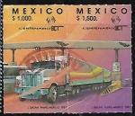 Sellos del Mundo : America : México : Centenario de la Sría. de Comunicaciones y Transportes