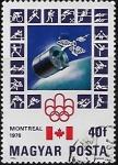 Sellos de Europa - Hungría -  Juegos Olímpicos de Montreal, Canadá