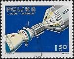 """Sellos del Mundo : Europa : Polonia : Misión espacial conjunta """"Apolo-Soyuz"""""""