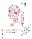 Sellos del Mundo : Europa : Dinamarca : red barnet
