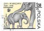 de Europa - Polonia -  elefantes