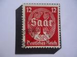 de Europa - Alemania -  Alemania, Reino - Águila Imperial - Con Inscripción Saar - Serie:Plebiscito de Saar, Enero 13 de 193