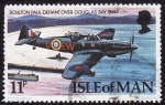 Stamps United Kingdom -  Avion en vuelo