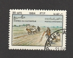 Stamps : Asia : Afghanistan :  Labores agrícolas