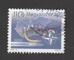 Stamps : Europe : Hungary :  Ingreso Hungría en la OTAN