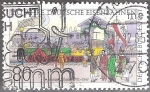 Sellos del Mundo : Europa : Alemania : 150a ferrocarriles alemanes y el 200 aniv del nacimiento de Johannes Scharrer (1785-1844).