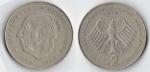 monedas de Europa - Alemania -  20 aniversario de la República Federal (1949 - 1969) Theodor Heuss