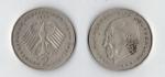 monedas de Europa - Alemania -  20 aniversario de la República Federal (1949 - 1969) Konrad Adenauer