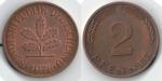 monedas de Europa - Alemania -  2 PFENNIG