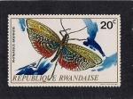 Stamps Africa - Rwanda -  Insectos