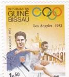 Stamps Guinea Bissau -  OLIMPIADA LOS ANGELES'32